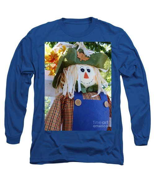 Happy Scarecrow Long Sleeve T-Shirt