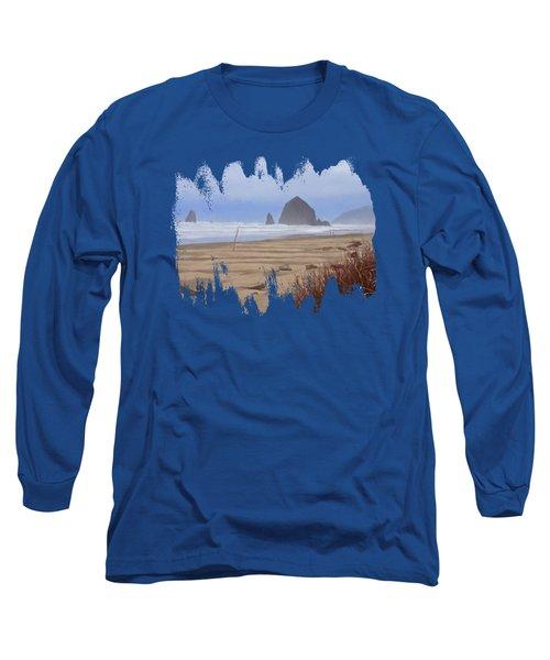 Haystack Rock Long Sleeve T-Shirt