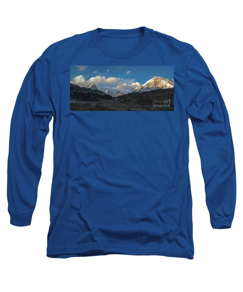 Long Sleeve T-Shirt featuring the photograph Heading To Everest Base Camp by Mike Reid