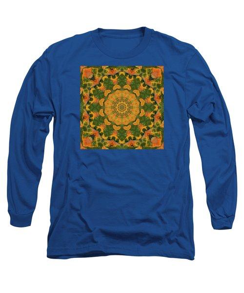 Healing Mandala 9 Long Sleeve T-Shirt