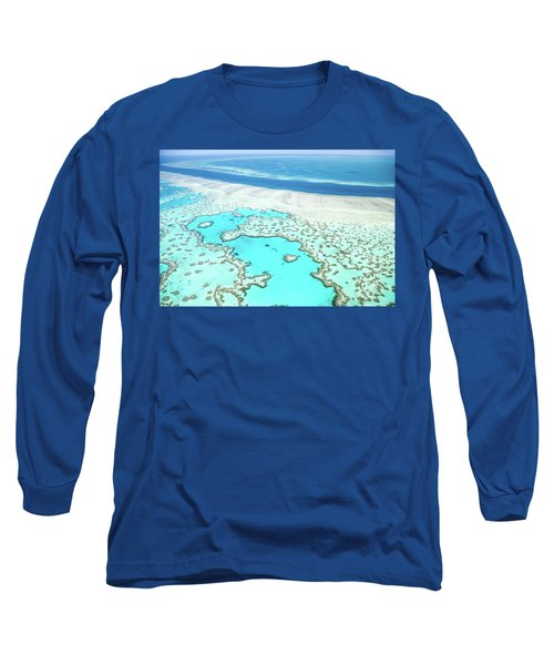 Long Sleeve T-Shirt featuring the photograph Heart Reef by Az Jackson