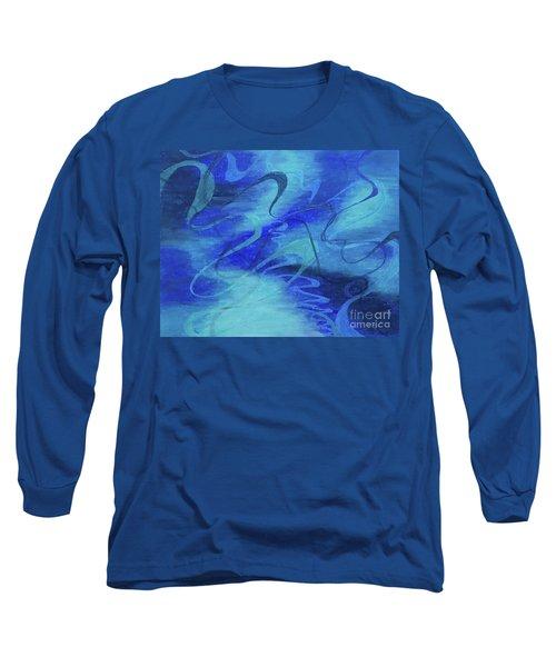 Heartsong Blue 1 Long Sleeve T-Shirt