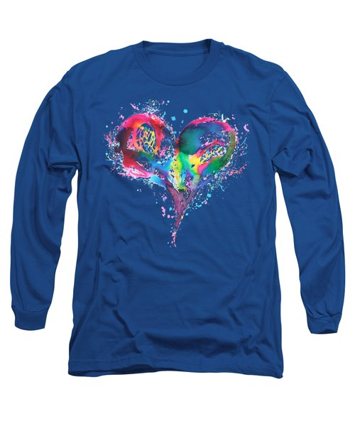 Hearts 6 T-shirt Long Sleeve T-Shirt
