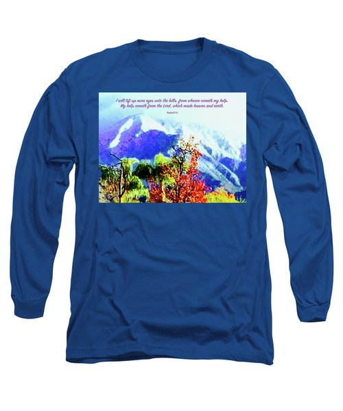 Heaven And Earth Long Sleeve T-Shirt by Russell Keating