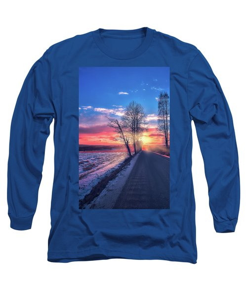 Heavenly Journey Long Sleeve T-Shirt by Rose-Marie Karlsen
