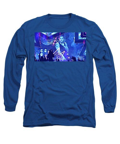 Heavy Entertaining Long Sleeve T-Shirt