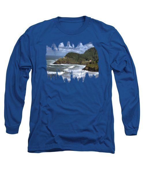 Heceta Head Lighthouse Long Sleeve T-Shirt