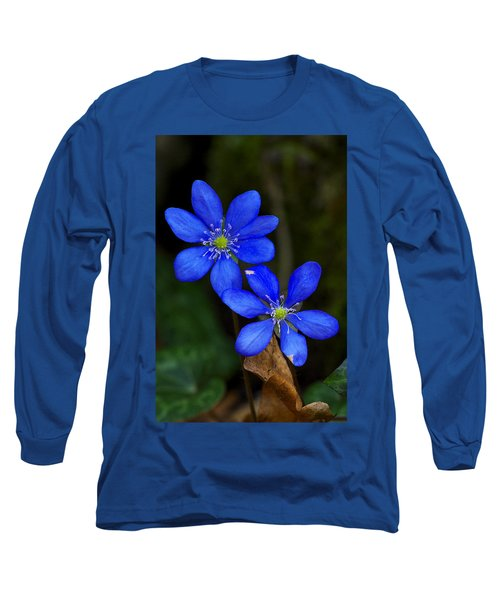 Hepatica Nobilis Long Sleeve T-Shirt
