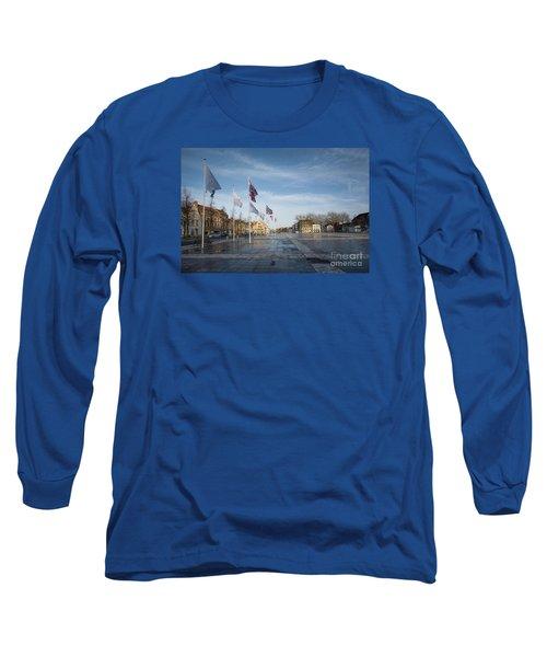 Het Zand, Bruges Long Sleeve T-Shirt