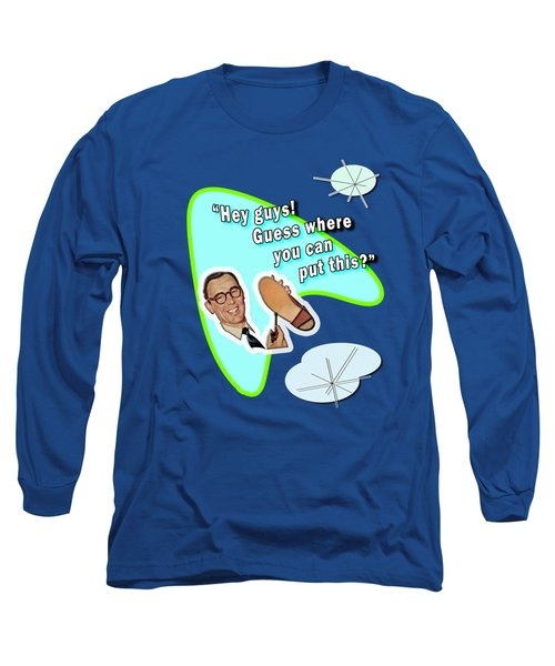 Hey Guys  Long Sleeve T-Shirt by Christopher Woods