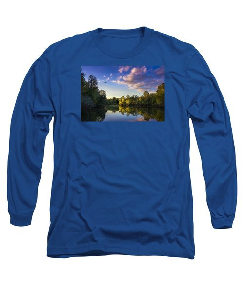 Hidden Light Long Sleeve T-Shirt by Marvin Spates