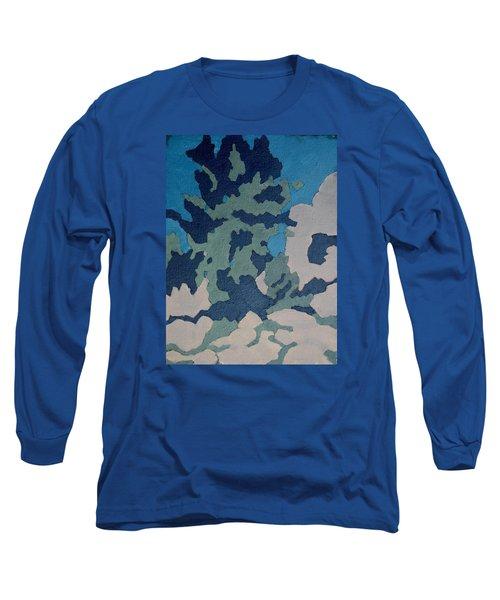 Hidden Valley Abstraction Long Sleeve T-Shirt by Richard Willson