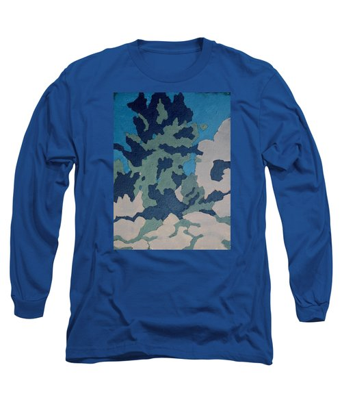 Hidden Valley Abstraction Long Sleeve T-Shirt