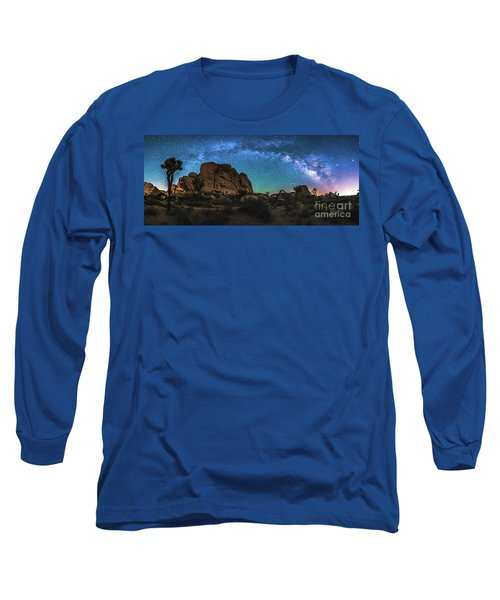 Hidden Valley Milky Way Panorama Long Sleeve T-Shirt