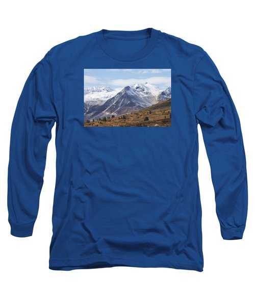 Long Sleeve T-Shirt featuring the photograph High Country In Fall by Michele Cornelius