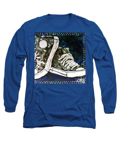 High Top Heaven Long Sleeve T-Shirt by Jackie Carpenter