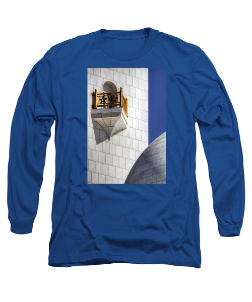 Long Sleeve T-Shirt featuring the photograph Hindu Temple Tower by John Swartz