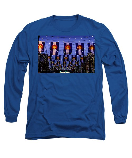 Historic Larimer Square Denver Long Sleeve T-Shirt