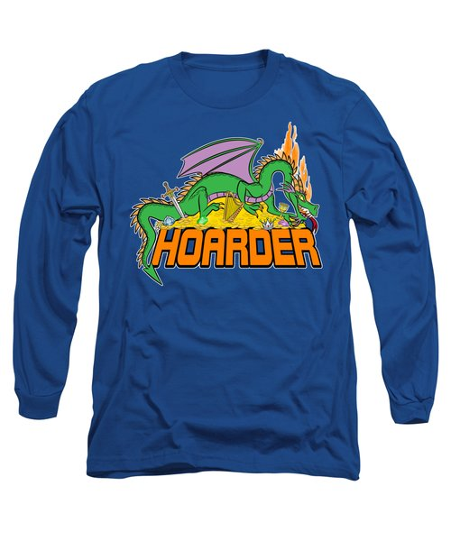 Long Sleeve T-Shirt featuring the digital art Hoarder by J L Meadows