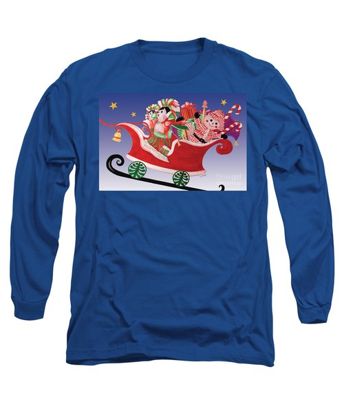 Holiday Twin Delivery Long Sleeve T-Shirt