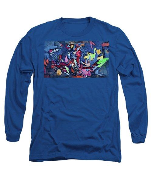 Holonomic Multiverse  Long Sleeve T-Shirt