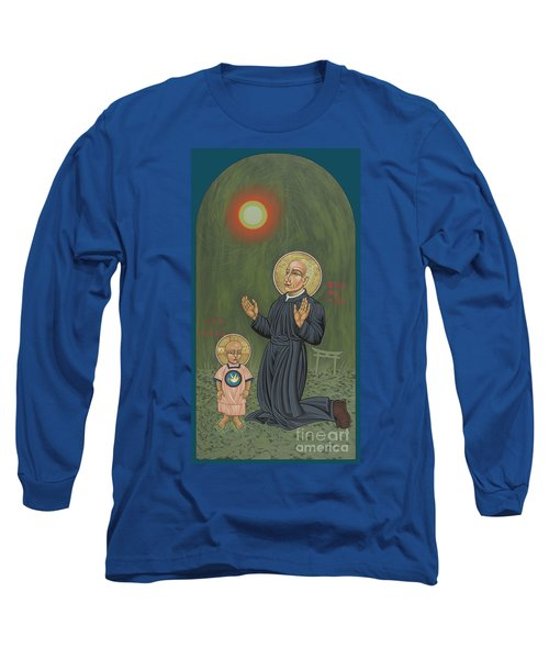 Holy Father Pedro Arrupe, Sj In Hiroshima With The Christ Child 293 Long Sleeve T-Shirt