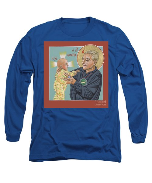Long Sleeve T-Shirt featuring the painting Holy Prophet Daniel Berrigan 291 by William Hart McNichols
