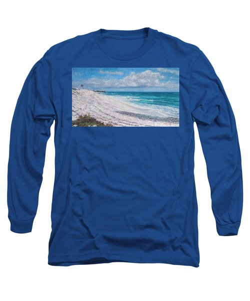 Hope Town Beach Long Sleeve T-Shirt