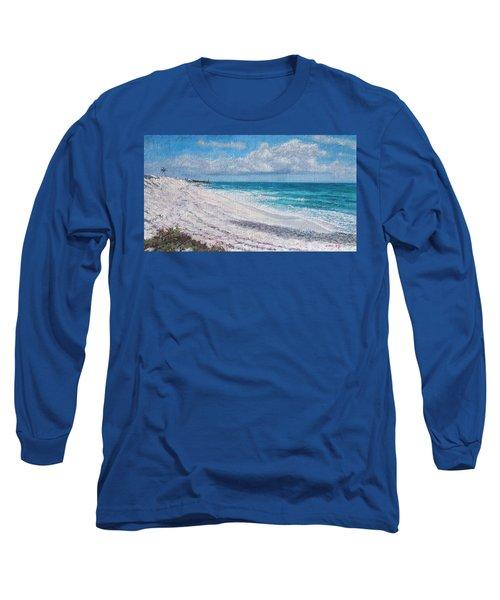 Hope Town Beach Long Sleeve T-Shirt