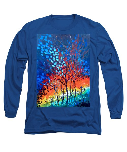 Horizons Long Sleeve T-Shirt by Linda Shackelford