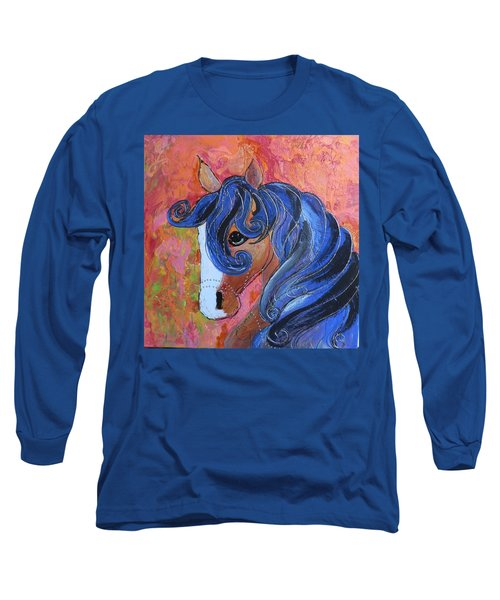 Horse Of A Different Color Long Sleeve T-Shirt