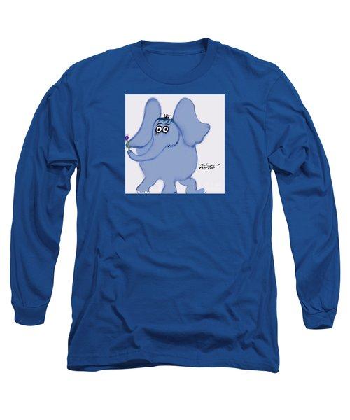 Horton Long Sleeve T-Shirt by Susan Garren