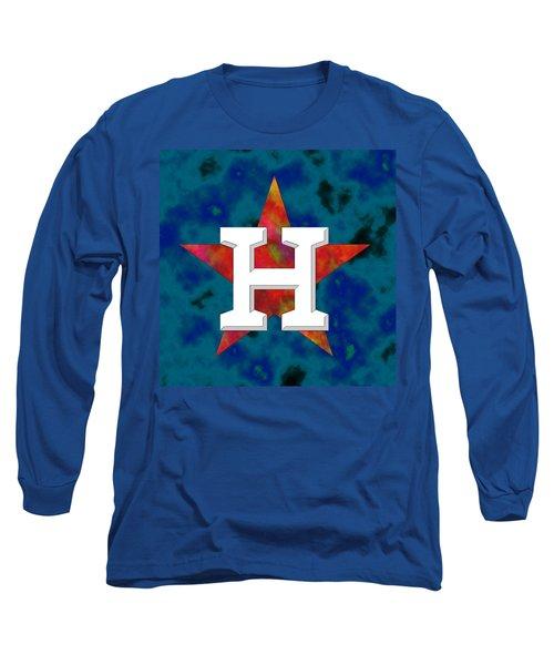 Houston Astros Logo Long Sleeve T-Shirt