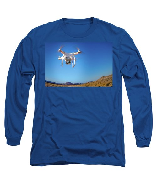 Hover Long Sleeve T-Shirt by Mark Dunton