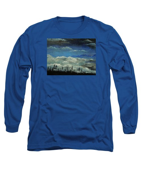 Long Sleeve T-Shirt featuring the painting How Majestic Is Your Name by Dan Whittemore