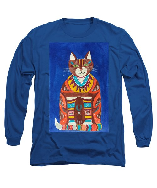 Huey Cat Long Sleeve T-Shirt
