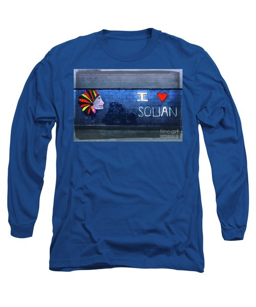 Long Sleeve T-Shirt featuring the photograph I Love Squan  by Colleen Kammerer