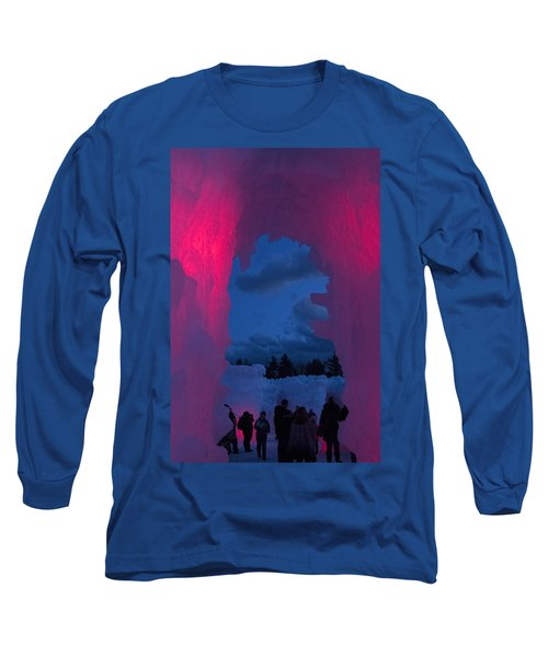 Ice And Colors  Long Sleeve T-Shirt