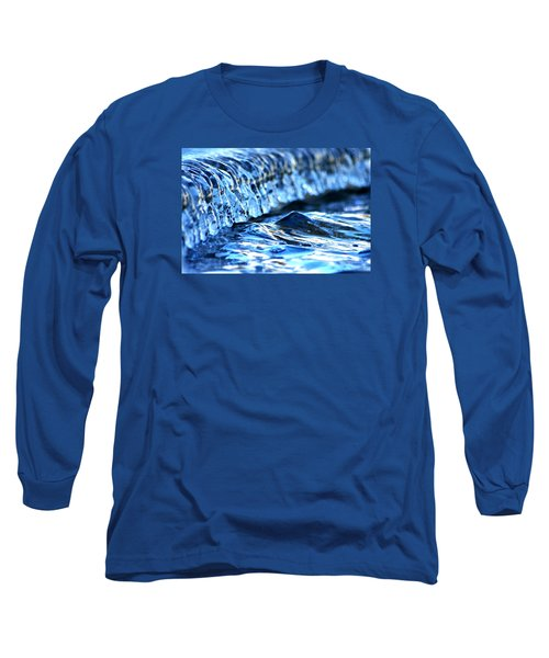 Ice Formation 08 Long Sleeve T-Shirt