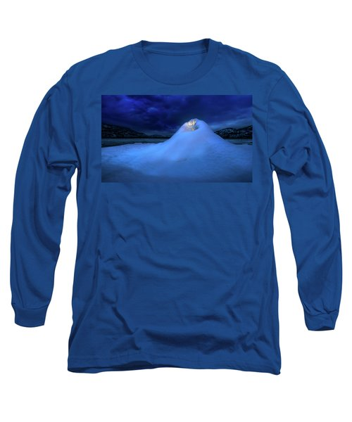 Long Sleeve T-Shirt featuring the photograph Ice Volcano by John Poon