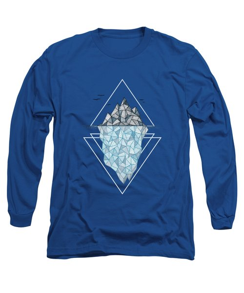 Iceberg Long Sleeve T-Shirt by Barlena
