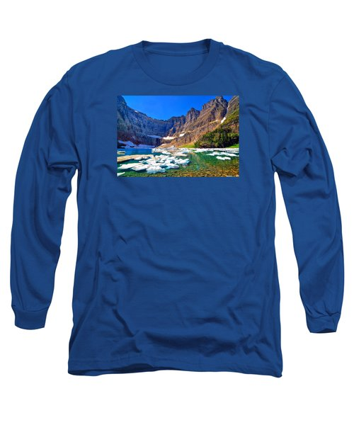 Long Sleeve T-Shirt featuring the photograph Iceberg Lake by Greg Norrell