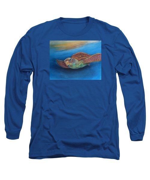 Long Sleeve T-Shirt featuring the painting I.c.u by Ceci Watson