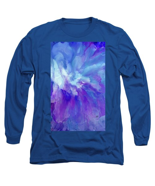 Icy Bloom Long Sleeve T-Shirt