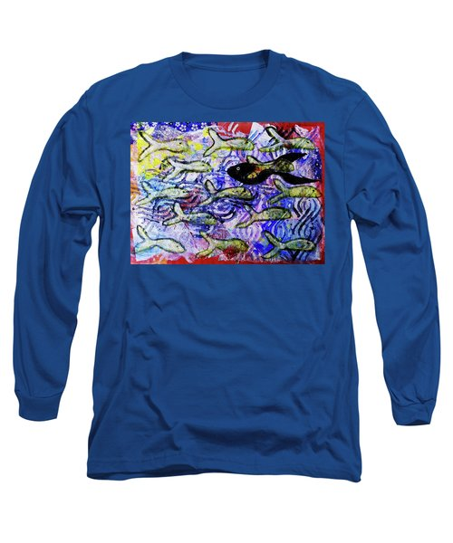 I'm The Black Fish Of The Family Long Sleeve T-Shirt