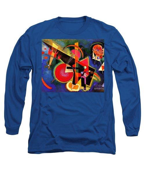 In The Blue Long Sleeve T-Shirt by Kandinsky