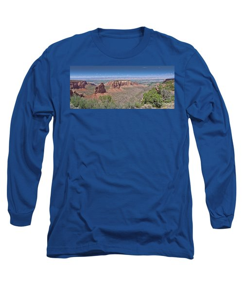 Independence Pano Long Sleeve T-Shirt