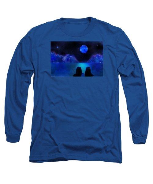Long Sleeve T-Shirt featuring the photograph Infinite Dreams by Bernd Hau