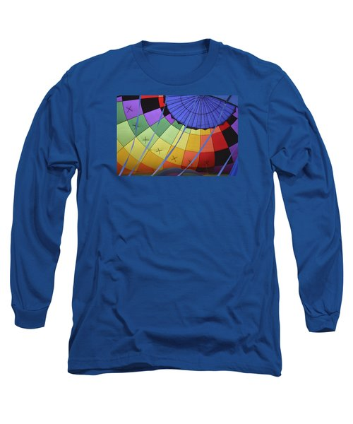 Inflation Time Long Sleeve T-Shirt by Linda Geiger