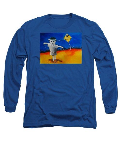 Inhalation Hazard Long Sleeve T-Shirt by Jean Cormier